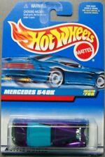 Hot Wheels 1997 Diecast Coll. #788 Mercedes 540K  Purple w Black Interior  ERROR