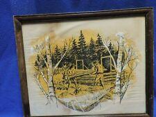 Original Outdoor Life Art Sketch by Walton Baumhofer June 1969