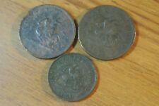 1850 &1853  Bank of Upper Canada Penny+ 1850 HALF PENNY