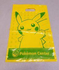 Pokemon Center Shopper Med Shopping Bag Yellow & Green Pikachu Pokebox 2013 NT