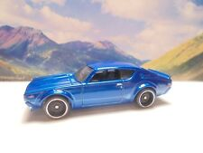 NISSAN SKYLINE 2000 GT-R     2018 Hot Wheels Then And Now Series    Blue