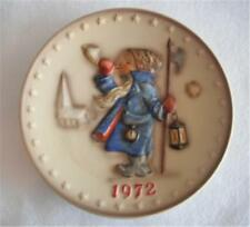 Collector Plate Hummel Goebel 1972 Hear Ye, Hear Ye Annual Plate #265 Mint Box