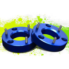 "PAIR 2""FRONT UP MOUNT LEVELING LIFT SPACERS KIT FOR 07-17 SILVERADO/SIERRA BLUE"