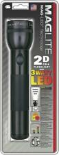 "MagLite 10"" 2D Cell Battery Black Aluminum Body Hang Packed LED Flashlight 51008"