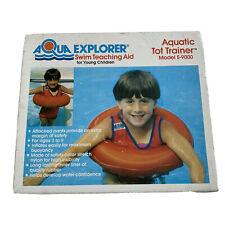 Vintage Swim Teaching Aid Aqua Explorer Aquatic Tot Trainer E-9000 New Open Box