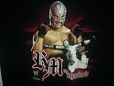 WWE Rey Mysterio 2XL T-Shirt Hybrid wrestling Mask 619 West Coast Pop WWF WCW