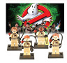 GHOSTBUSTER PS4 SOS FONTOME LE LOT DE 4 FIGURINES Mini Figures Use With Lego