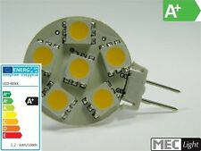 G4 LED Stiftsockel Lampe 6x SMD-Leds GU4 -96Lm warm-weiß (side-pin) EEK:A