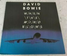 "DAVID BOWIE - WHEN THE WIND BLOWS 7"" FRANCE 1986 VIRGIN PICTURE SLEEVE"