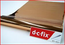 DC FIX Rose Gold Gloss 2m x 45cm Sticky Back Self Adhesive Vinyl Contact Paper