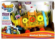 LOT OF TWO Beat Bugs Musical Submarine Action Figure Vehicle Beatles Music New