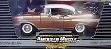 1957 Chevy Belair Sierra Gold 1:18 Ertl American Muscle 39415