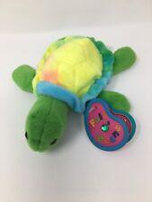 Avon Full O' Beans Birthstone Plush: May/Emerald Shelly the Turtle w/Hangtag