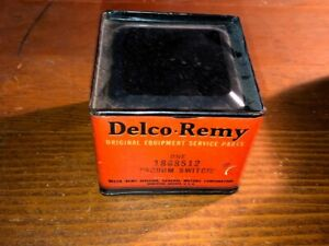 NOS GM Delco-Remy 1938-39 Buick Century Roadmaster Limited Vacuum Starter Switch