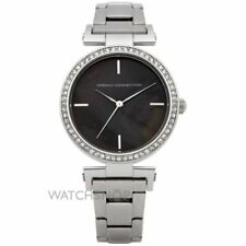FRENCH CONNECTION WATCH 30% SALE! Ladies 50mWR Blk MOP with Crystals RRP $229