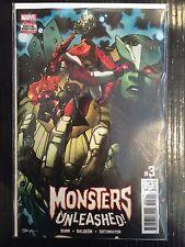 Monsters Unleashed (Vol 3) #3 NM- 1st Print Free UK P&P Marvel Comics 2017
