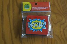 Super Hero Bursts Magnetic Whiteboard Eraser Teacher Supplies