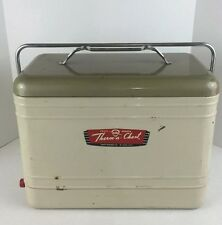 Vintage 1950 Original Knapp Monarch Therm-A-Chest, Cooler and Drain Plug.