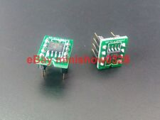 2x NS LME49990MA LME49990 SOIC to DIP-8 socekt Mono OpAmp best on AK4399 AK4497