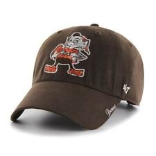 quality design 2b991 5c7d3 Cleveland Browns Women s 47 Brand Sparkle Adjustable Hat - Brown