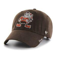 e9f95095e Cleveland Browns Women's 47 Brand Sparkle Adjustable Hat - Brown