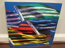 ADIDAS: Let The Games Begin (Softcover Book) (Lots of Sports and Shoe Pictures)