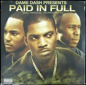 "DAME DASH PAID IN FULL ""SOUNDTRACK"" 2002 2X VINYL LP ALBUM COMPILATION *SEALED*"