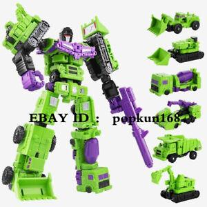 New In Stock Robot BHX Devastator Engineering Truck Combiner Action Figure Toys