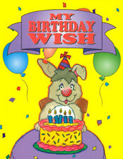 Personalized Children's Books-My Birthday Wish-Hard Cover-FREE Shipping