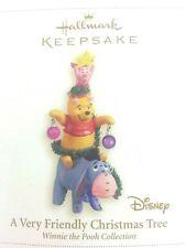 Hallmark Keepsake Ornament A Very Friendly Christmas Tree Pooh Collection Disney