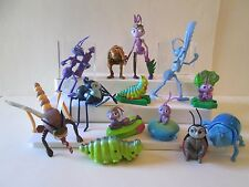"13 pc A Bug's Life Character Figure Disney 2.5-6"" tall Flik Dot Spider McDonalds"