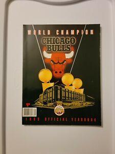 1993 Chicago Bulls World Champion Yearbook