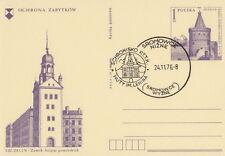Poland postmark SROMOWCE - mountain shelter Huty im.Lenina
