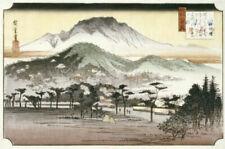Hiroshige Canvas Portrait Art Prints