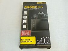 ORMY Pro 0.2mm Tempered Glass Camera Screen Guard for Nikon D5200 D5100 - NEW!