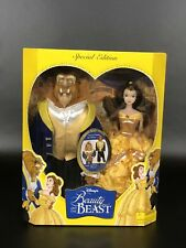 Disney Special Edition Beauty and the Beast Dolls Special Feature. Change Beast