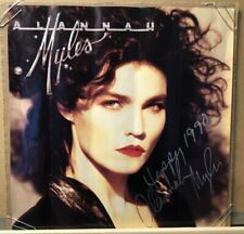 "Alannah Myles Signed 12""x12"" Atlantic Records Debut Lp Promo Poster-Canada-1989"