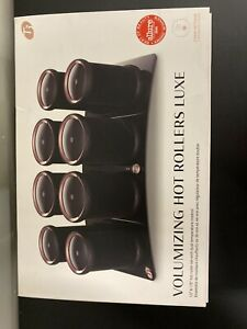 T3 Volumizing Hot Rollers Luxe Set of 8 NEW Sealed Box