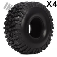 1.9in 120mm 1/10 Rock Crawler Tires(4) for RC Car Traxxas TRX4 Axial SCX10 90046