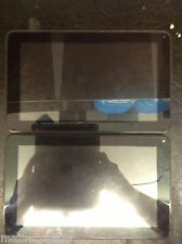 "Lot of 2 DOPO M975 9"" Multi-Touch Screen Table No Power Cracked Screen AS IS"