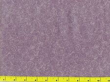 Light Dusty Purple Spiral Blender Quilting Fabric by Yard  #2153