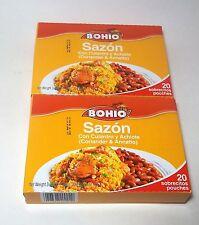 Puerto Rico Sazon BOHIO Seasoning PowderSpice Cilantro Annato CookingFood Rec zx