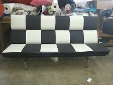 STUNNING EARLY 1960'S CHARLES AND RAY EAMES FOR HERMAN MILLER SOFA IN LEATHER