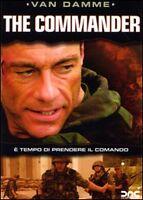 Dvd **THE COMMANDER** con Jean Claude Van Damme nuovo 2006