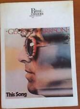 SPARTITO CHITARRA TESTO GEORGE HARRISON THIS SONG 1977