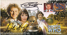 """Dr Who - """"The Two Doctors"""" Episode - Signed by COLIN BAKER & NICOLA BRYANT"""