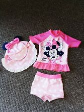 Baby girl swimsuit 6-9 months disney minnie mouse