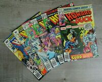 Marvel Comics Howard The Duck All Colour Two Graphic Comic Book Bundle 1970's