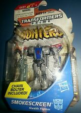 Transformers Prime Smokescreen MOSC Sealed Cyberverse Beast Hunters Hasbro