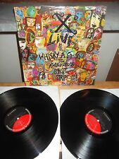 """X """"Live At The Whisky A Go-Go On The Fabulous Sunset Strip"""" 2LP ELEKTRA GERMANY"""